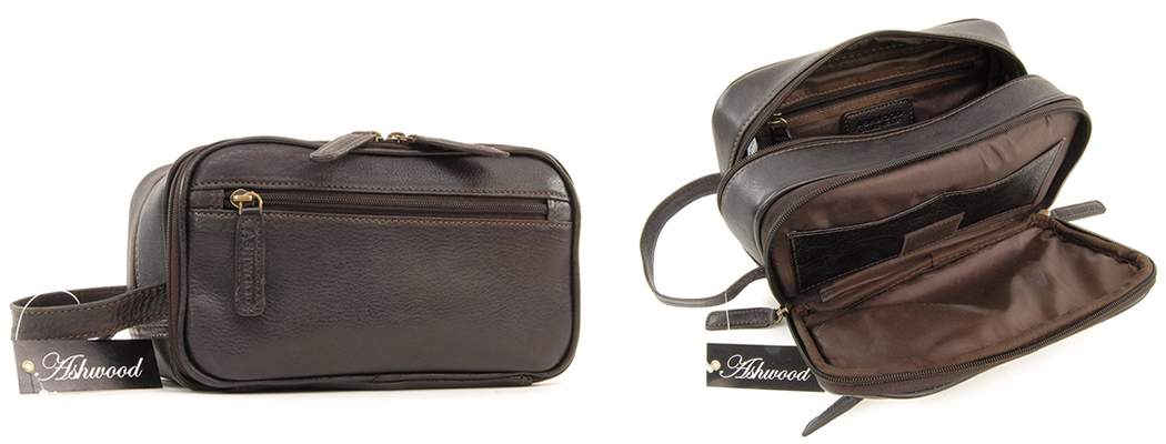Top 10 Best Men s Leather Wash Bags  f2413be0de3aa