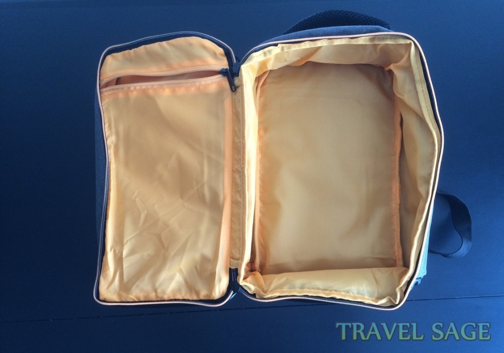 Cabin Max Oxford Stowaway Bag Inside