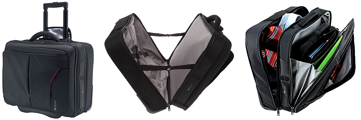 Delsey Oppono Wheeled Laptop Bag
