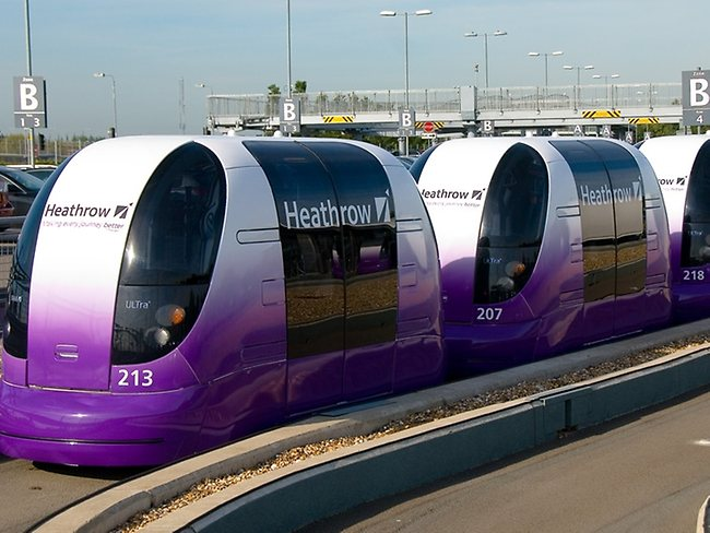 Heathrow Airport POD Parking