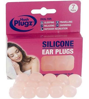 Hush Plugz Silicone Earplugs For Sleeping