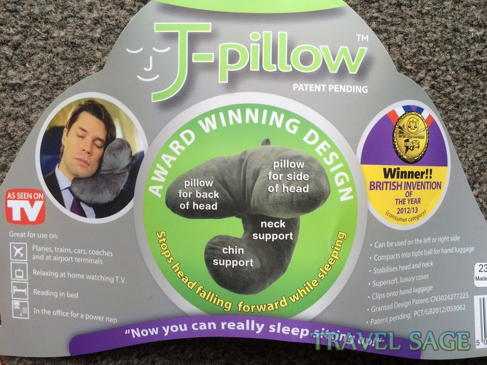 J Pillow Travel Neck Pillow Review