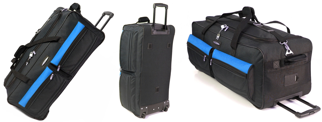 Jeep Wheeled Lightweight Suitcase