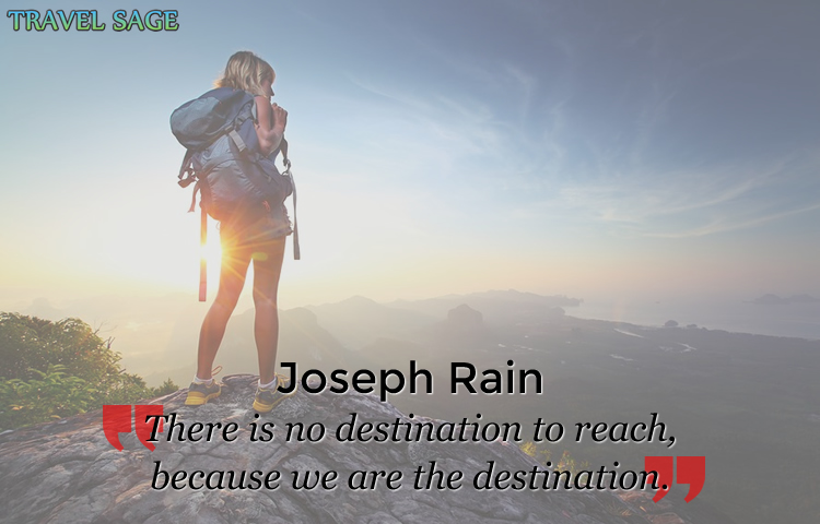 joseph rain - there is no destination