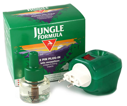 Jungle Formula Plug In Mosquito and Insect Repellent