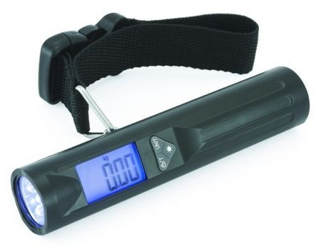 Digital Luggage Scale With 8 LED Torch
