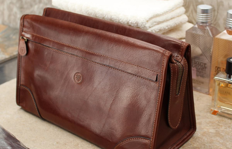 Top 10 Best Men's Leather Wash Bags
