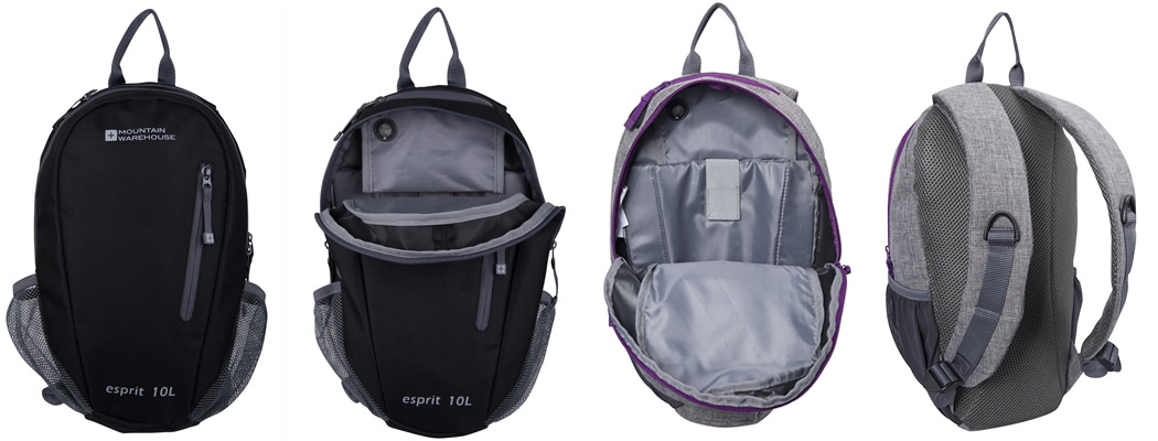 Mountain Warehouse Espirit 10 Small Backpack