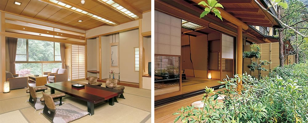 Nishiyama Onsen Keiunkan Room