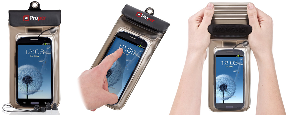 Proper Waterproof Smartphone Case