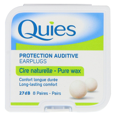 Quies Boules Natural Wax Earplugs For Sleeping