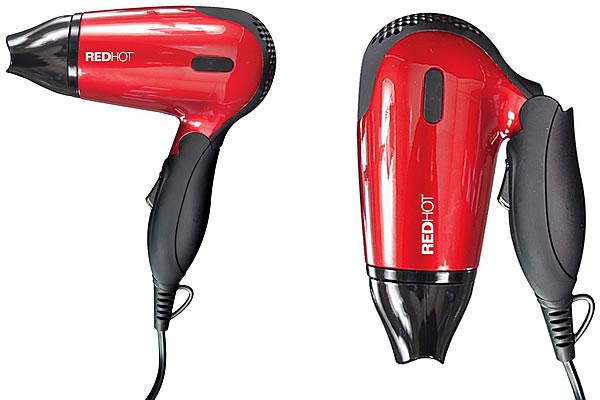 Red Hot Benross Travel Hair Dryer