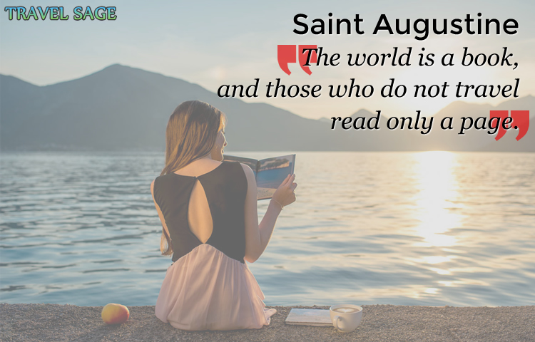 saint augustine - the world is a book