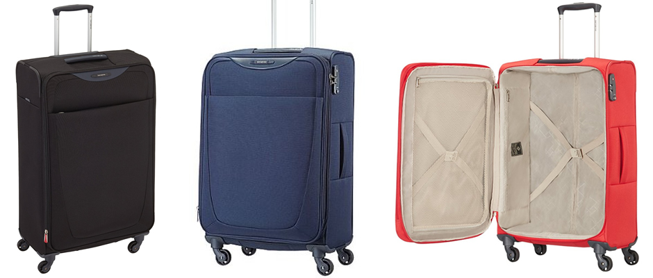 Samsonite Base Hits Spinner Lightweight Suitcase