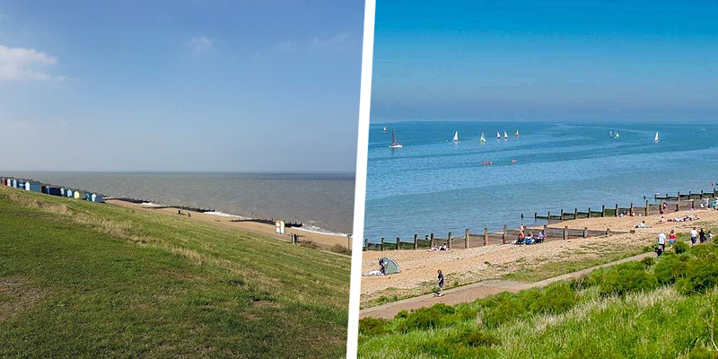 Tankerton Beach, Whitstable, Kent