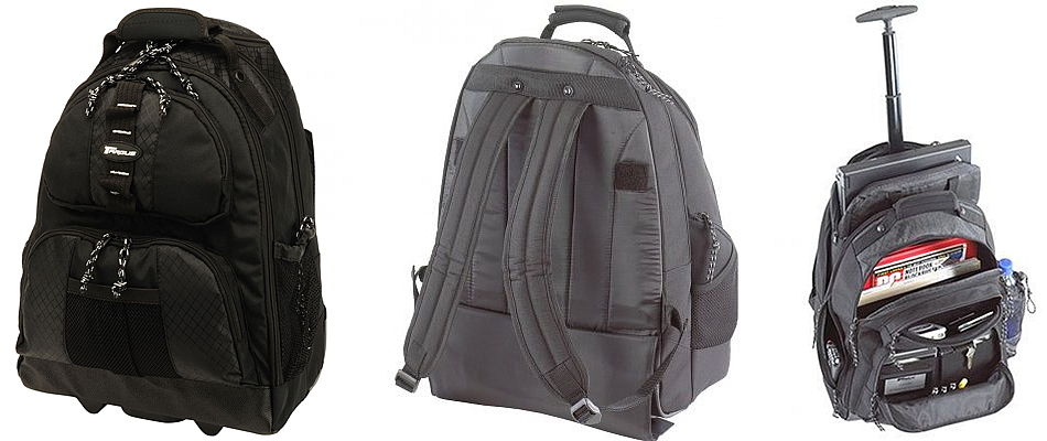 Targus TSB700EU Wheeled Laptop Backpack