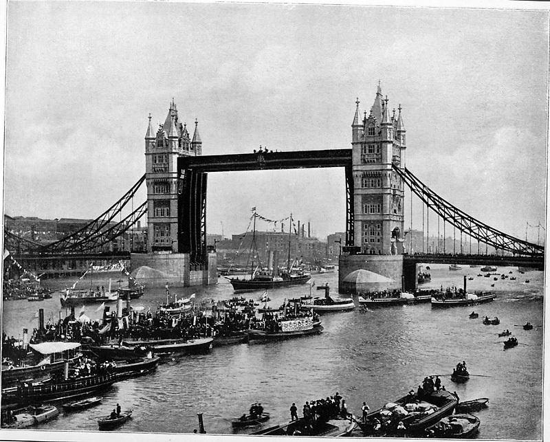 London Tower Bridge's Grand Opening