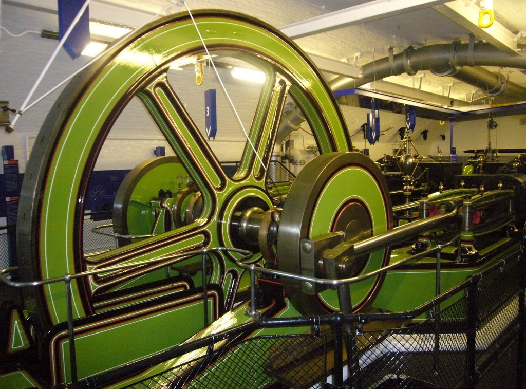 Tower Bridge Old Engine Pumps