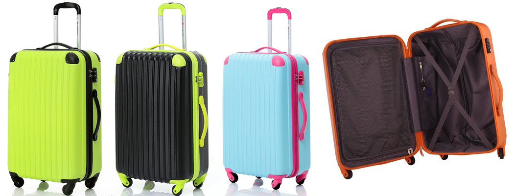 Travelhouse Hard Shell Lightweight Suitcase