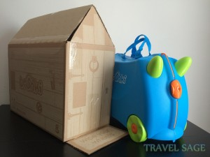 Trunki Ride-On Box with Suitcase