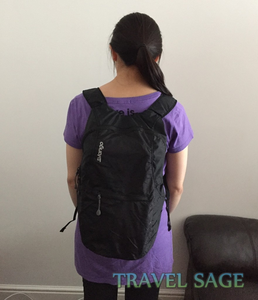 Vango Pac 15 Folding Rucksack Review