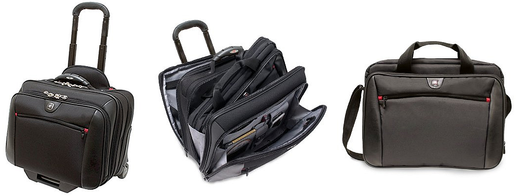 Wenger Comp-U-Roller Wheeled Laptop Briefcase