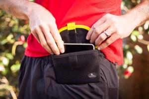 Travel belt pouch