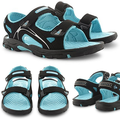 Dunlop Flat Open Toe Women's Walking Sandals