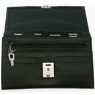 Soft PU Leather Travel Document Holder