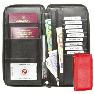 Koruma Travel Document Holder