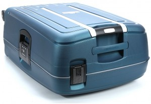 Top of the Samsonite S'Cure Spinner Luggage