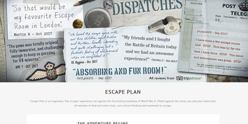 Escape Plan London