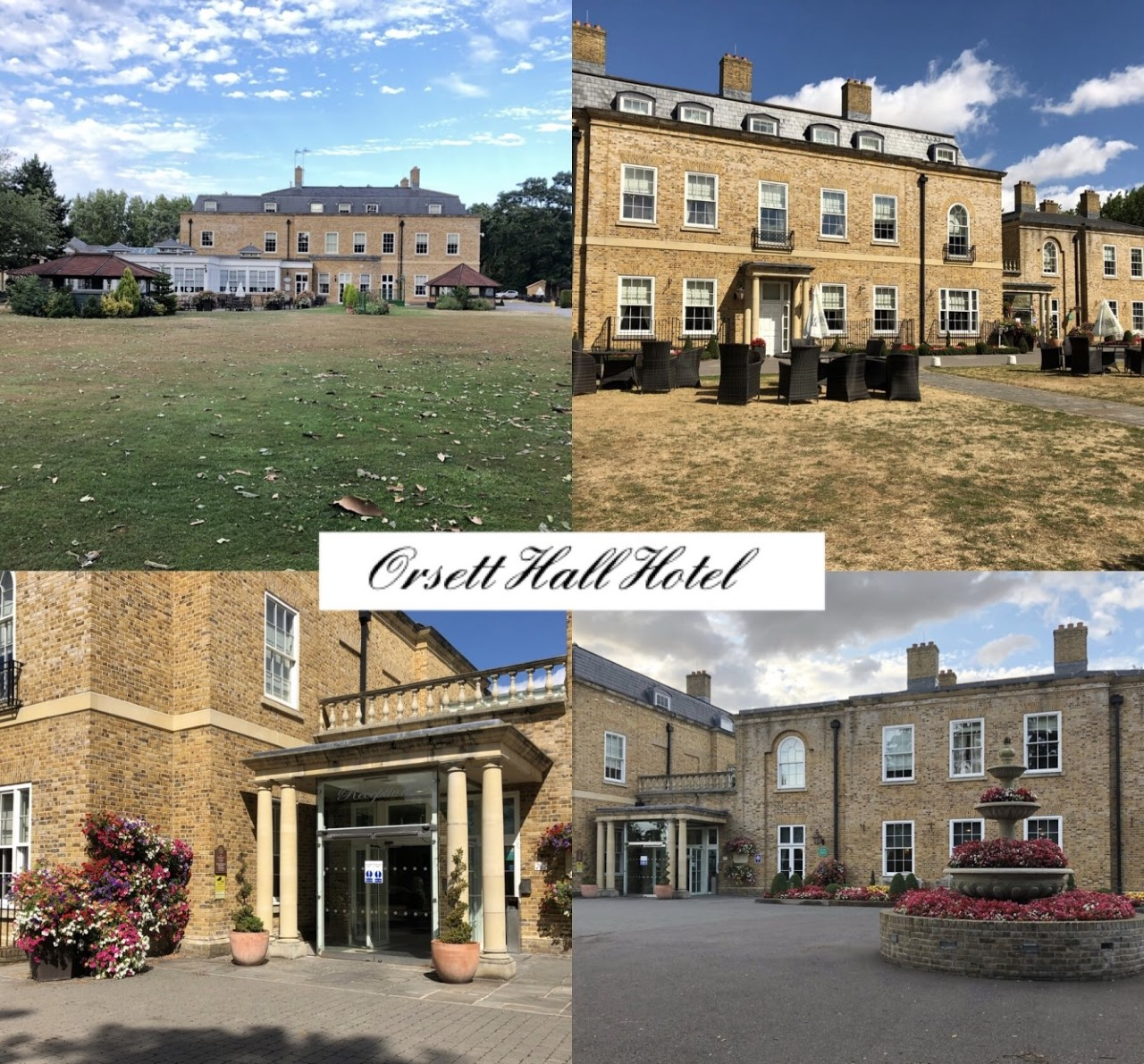Views of Orsett Hall Hotel