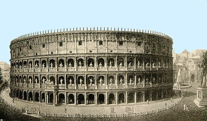 Visiting The Colosseum, Rome, Italy