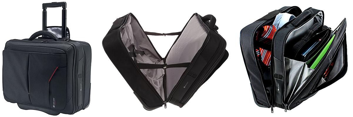 Delsey Oppono Wheeled Laptop Bag