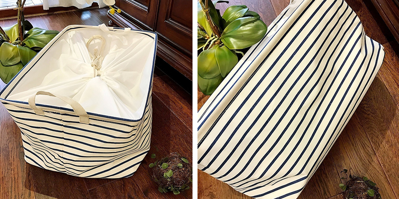 DOKEHOM Rectangular Travel Laundry Bag