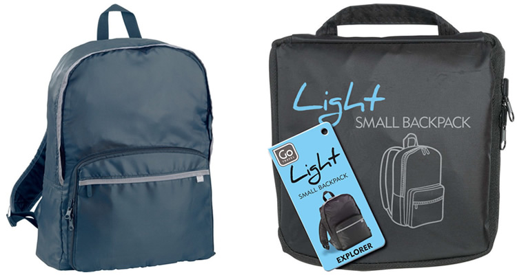 GO Travel Light Small Backpack
