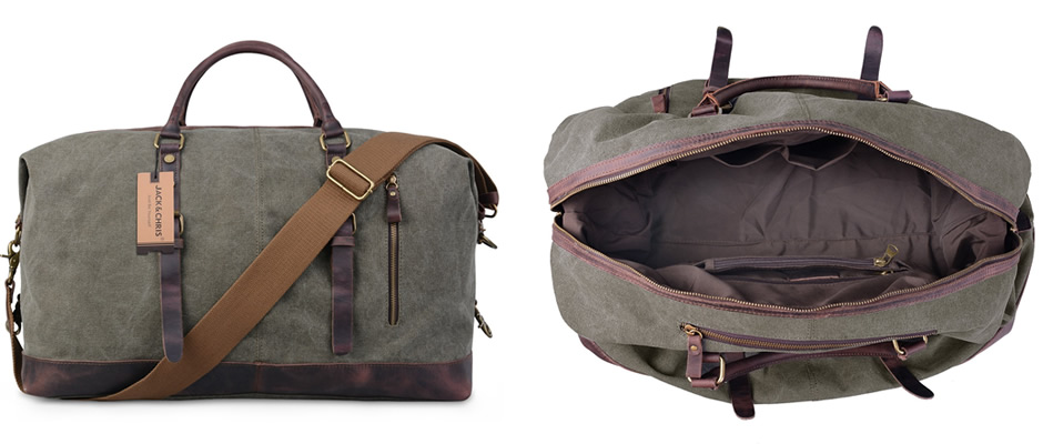 Jack & Chris Oversized Weekend Holdall Bag