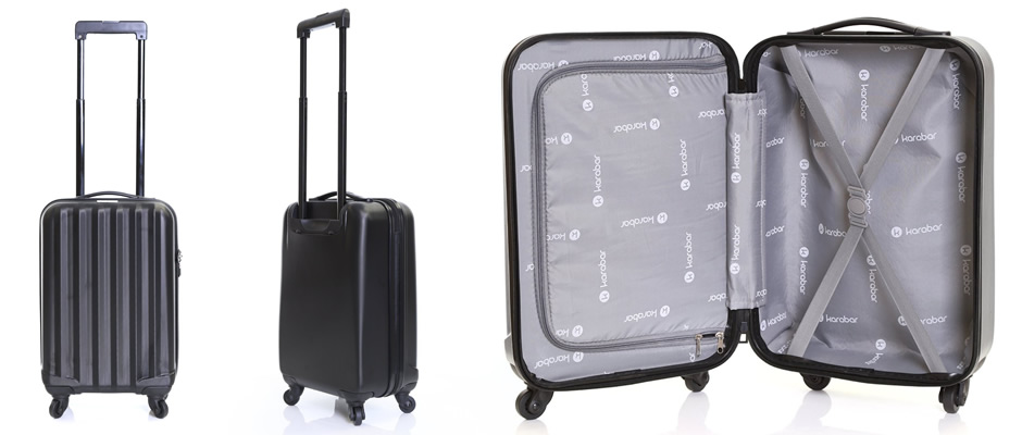 Karabar Monaco 4 Wheel Spinner Suitcase
