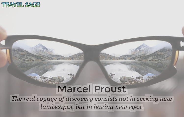 marcel proust - the real voyage of discovery