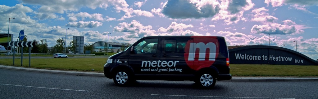 Meteor Heathrow Meet and Greet Van