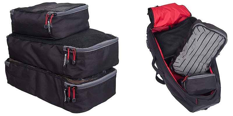 Mountain Warehouse Travel Organiser Packing Cubes