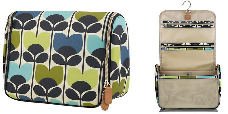 Orla Kiely Hanging Ladie's Wash Bag
