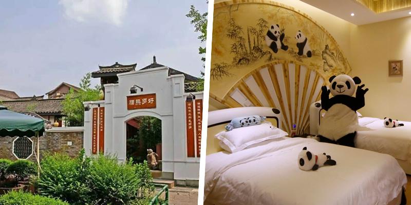 Panda Inn, Emeishan, China