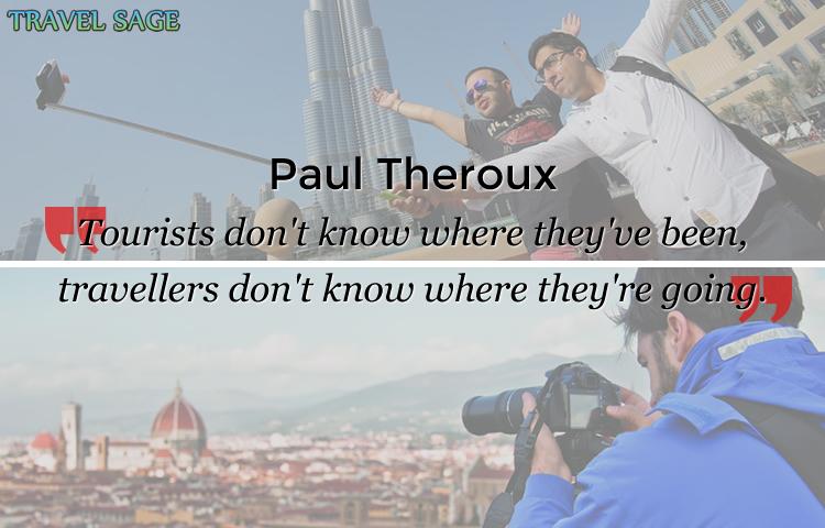 paul theroux - tourists