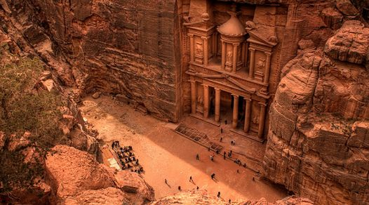 Visiting Petra, The Lost City