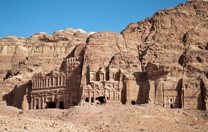Visiting Petra, The Royal Tombs