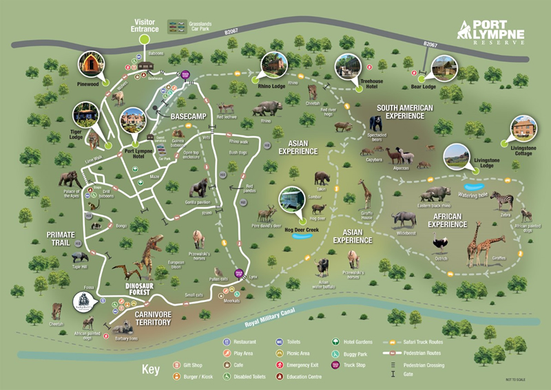 Woburn Safari Park Map Top 10 Best Safari Parks in England | Experience Wildlife Up Close Woburn Safari Park Map