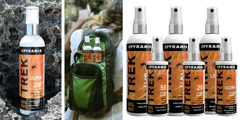 Pyramid Trek Mosquito Repellent Sprays Review