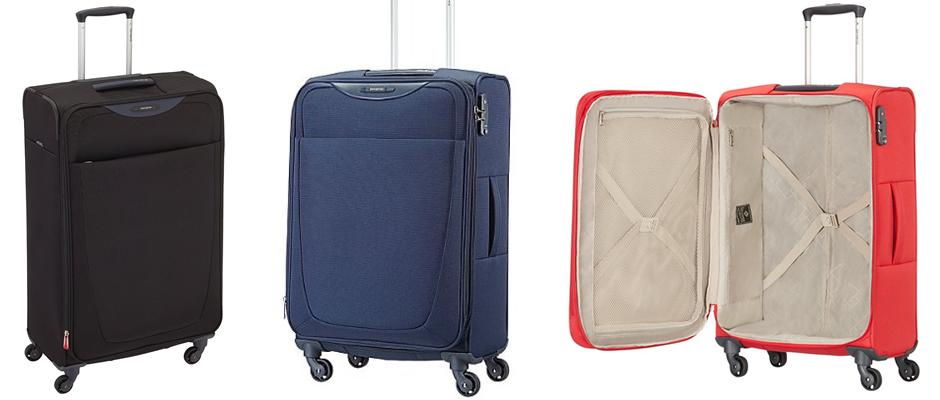 Samsonite Base Hits Spinner Lightweight Suitcase
